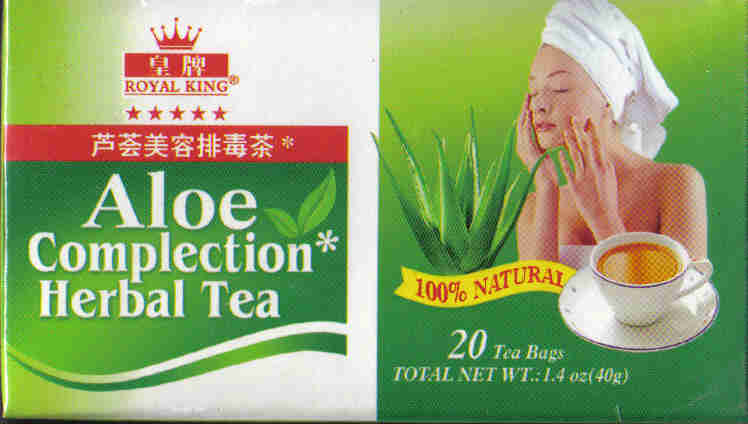Aloe Complection Herbal Tea* (20 Tea Bags)
