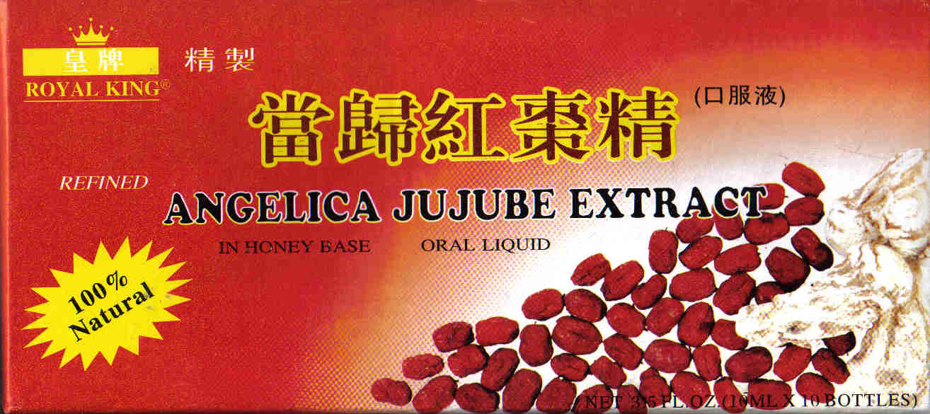Angelica Jujube Extract* (10 ml x 10 Vials)