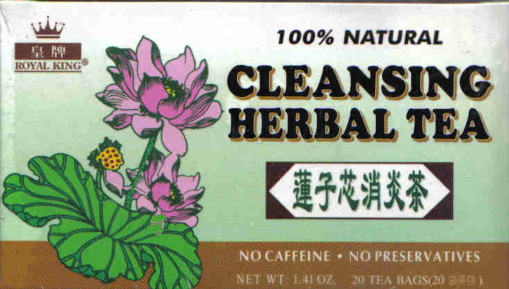 Cleansing Herbal Tea* (20 Tea Bags)