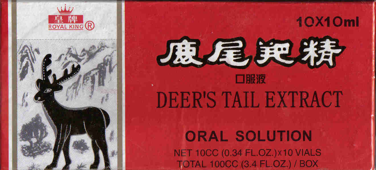Deer's Tail Extract* (10 ml x 10 Vials)