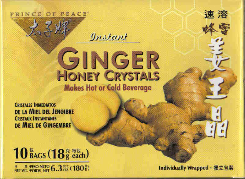 Ginger Honey Crystals (10 Bags)