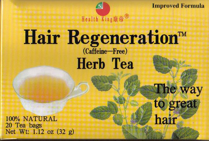 hair regeneration herb tea