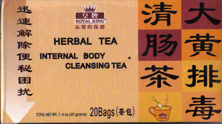 Internal Body Cleansing Tea* (20 Tea Bags)