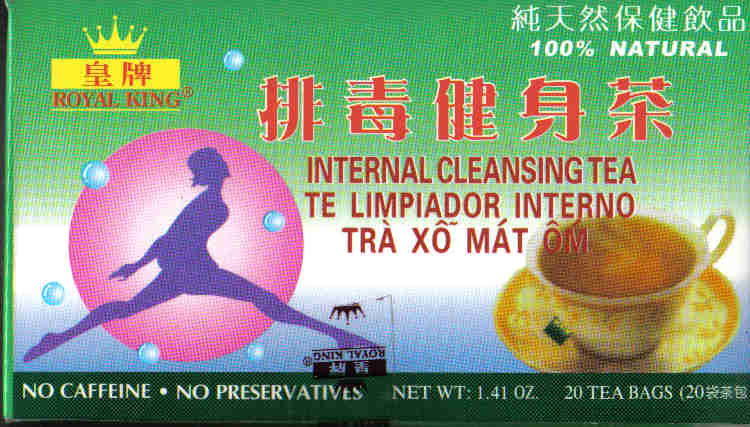 Internal Cleansing Tea* (20 Tea Bags)