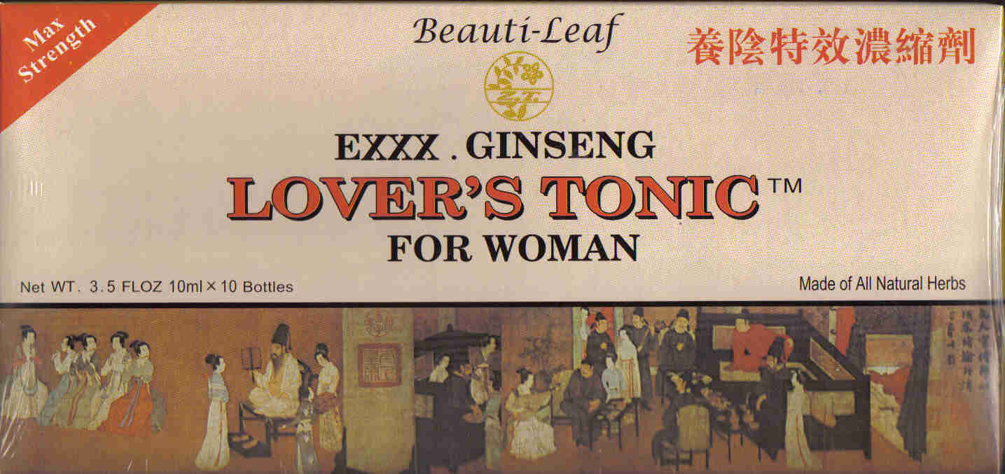 Lover's Tonic For Woman (10 Vials)
