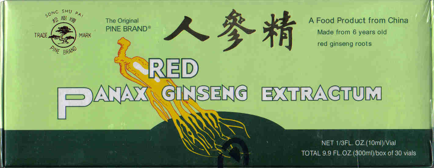 Red Panax Ginseng Extractum (30 Vials)