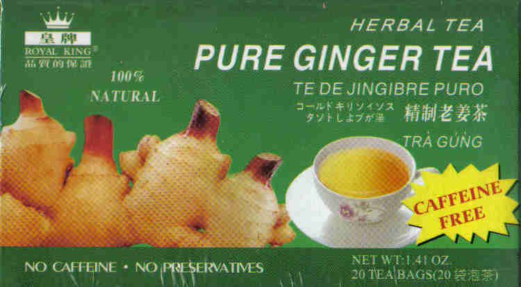 Pure Ginger Tea* (20 Tea Bags)