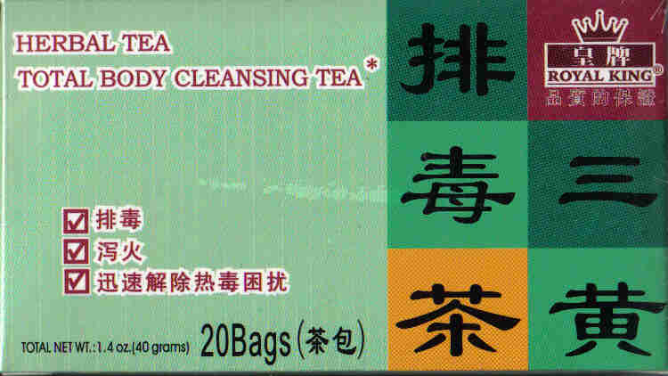 Total Body Cleansing Tea* (20 Tea Bags)